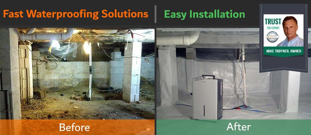 Basement Waterproofing in South Jersey