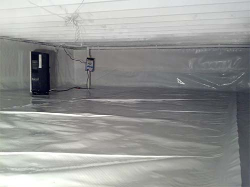 Heavy Duty Crawlspace Vapor Barrier