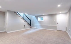 Property Clean out finished basement